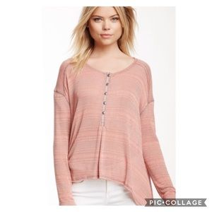 NWT We The Free Henley Tunic